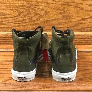 aa0027503a Vans Shoes - Vans Sk8 Hi Slim Cutout Perf Suede Tarmac White